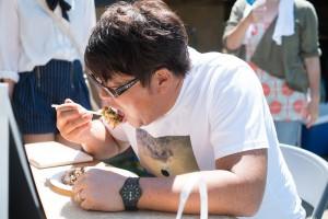 BBQの様子12_賞金争奪!お好み焼きライフグループCUP