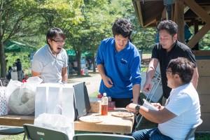 BBQの様子14_賞金争奪!お好み焼きライフグループCUP