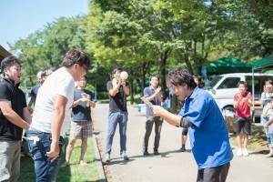 BBQの様子15_賞金争奪!お好み焼きライフグループCUP