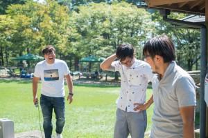 BBQの様子16_賞金争奪!お好み焼きライフグループCUP